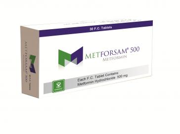 METFORSAM 500 (100tablets)